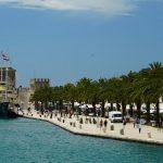 Riva Trogir - die Hafenpromenade