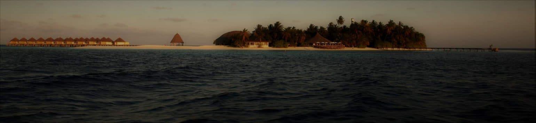 Angaga Hausriff Nachttauchgang Malediven