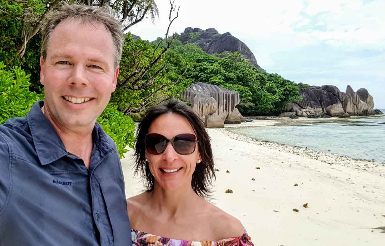 Nicole Bralo-Dunker und Michael Dunker sind auf Weltreise scheibchenweise