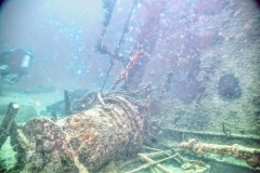 Wrack Tauchgang Antilla Aruba 05