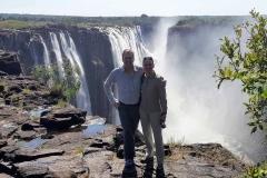Nicole Dunker und Michael Dunker Victoria Wasserfälle