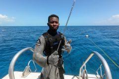 Haifütterung Kettenanzug Sharkfeeder Terell