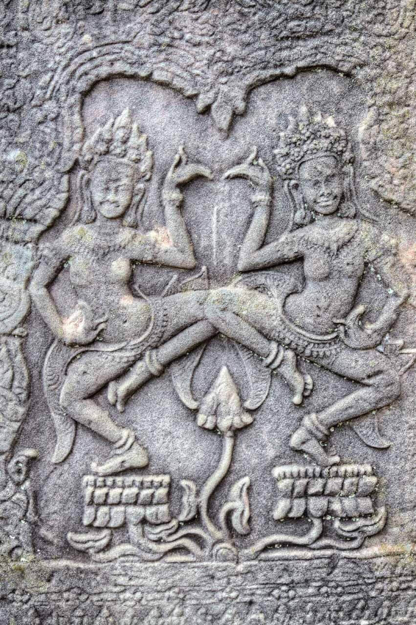 Relief in Angkor Thom