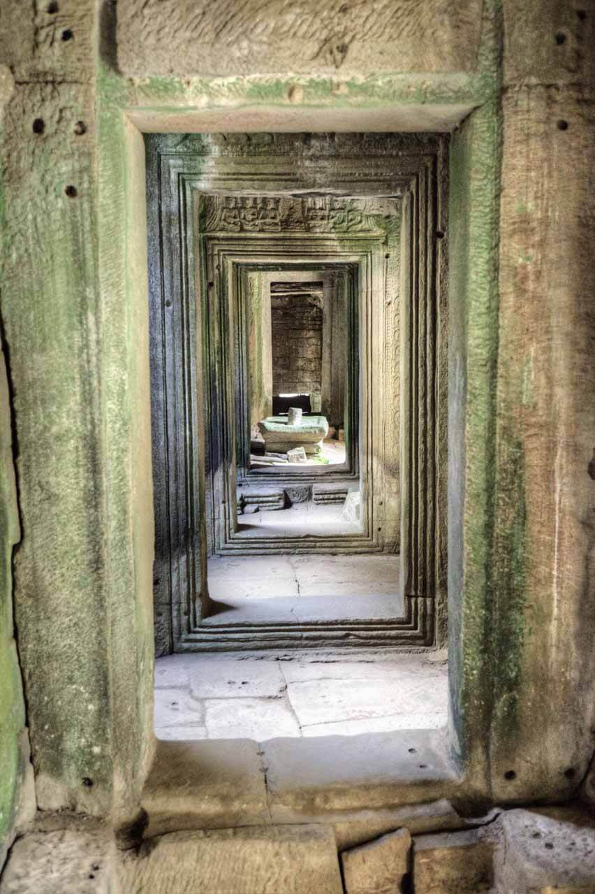 Steinerne Bögen in Angkor Thom