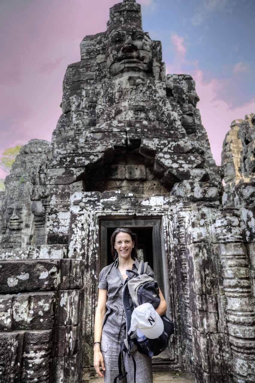 Nikki entdeckt den großen Tempel in Angkor Thom