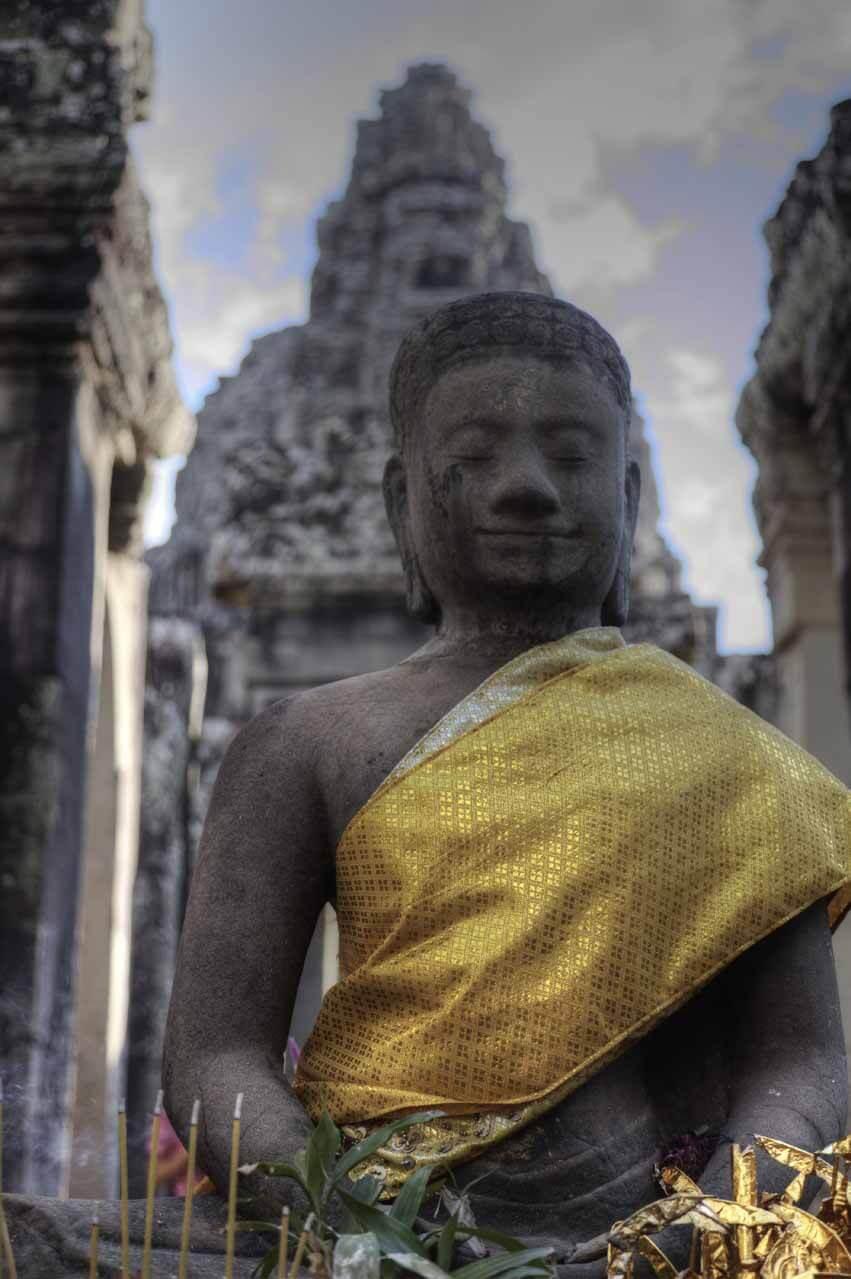Buddha Figur in Angkor Thom