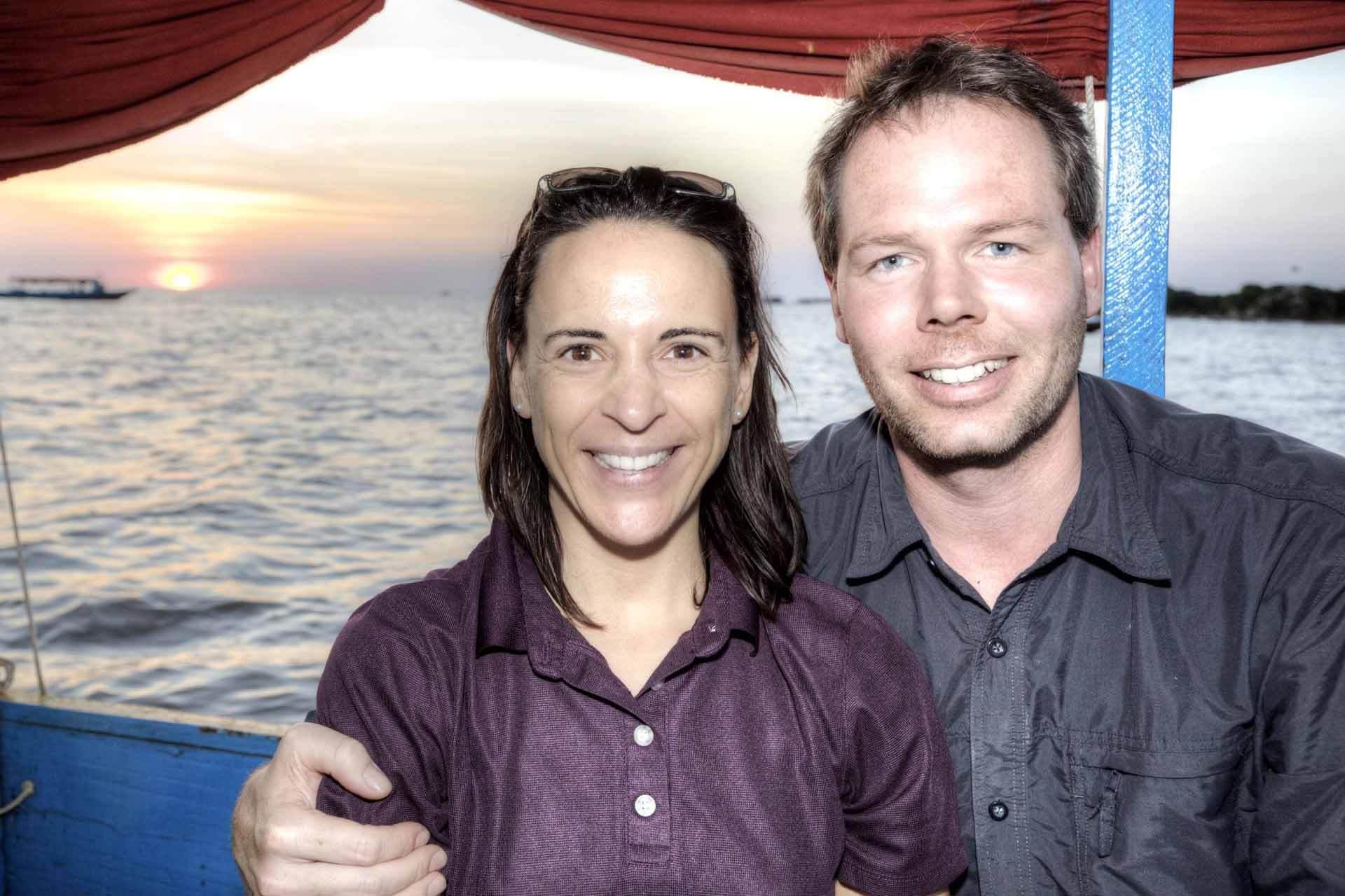 Nikki%Michi auf dem Tonle-Sap-See in der Region Siem Reap