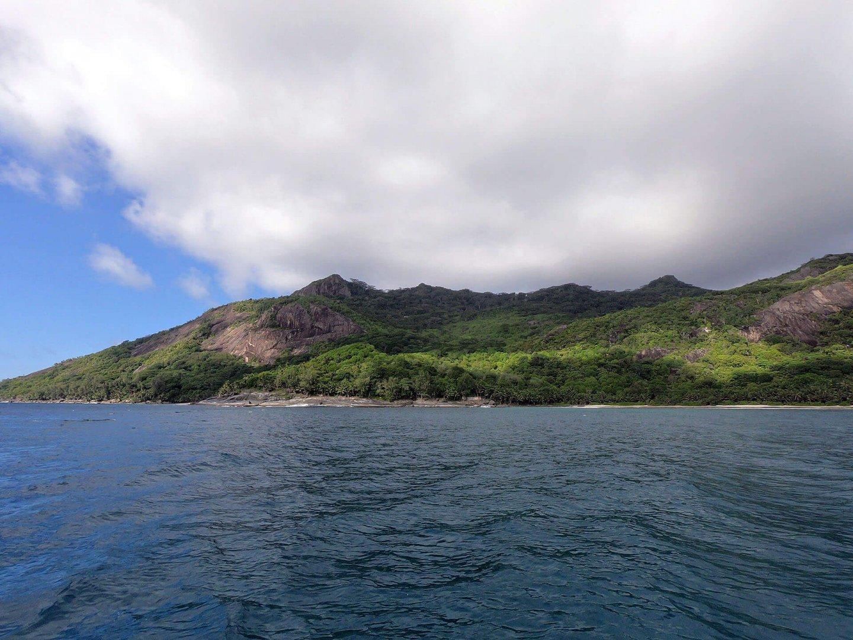Tauchen vor Silhouette Island