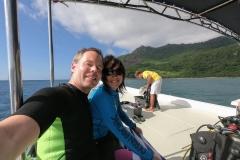 Tauchen Silhouette Island